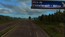 Aire de Châtellerault - Antran