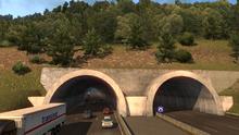 Tunnel de la Giraude