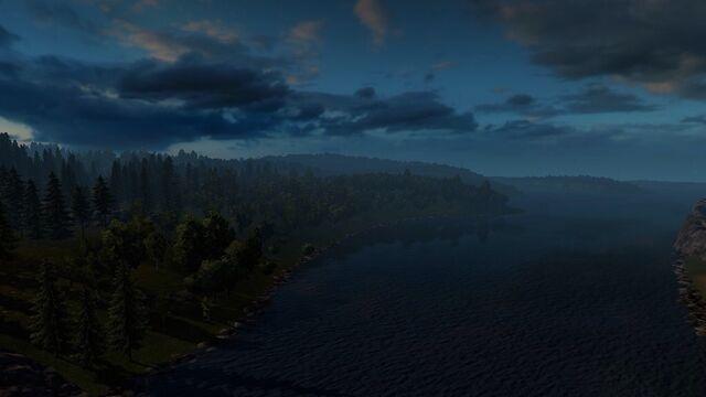 File:Norway lake dawn.jpg
