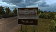 Toulouse sign