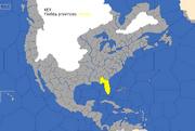 """Map showing Florida provinces"""