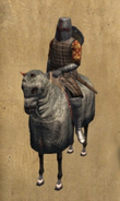 Castillian Knight mounted