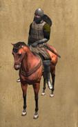 Leonese banchelor mounted