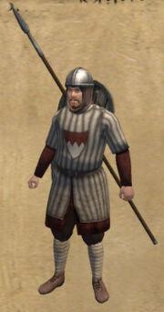 Franconian Militia Veteran Spearman