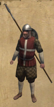 Bavarian Militia Veteran Spearman