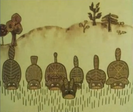 File:El-ahrairah and his friends eating grass.png