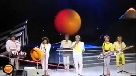 """16) WEST GERMANY """"Laß die Sonne in dein Herz"""" Wind Eurovision 1987 Final"""