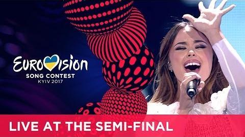 Lindita - World (Albania) LIVE at the first Semi-Final