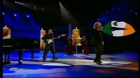 Eurovision 2000 23 Ireland *Eamonn Toal* *Millennium Of Love* 16 9 HQ