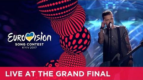 O.Torvald - Time (Ukraine) LIVE at the Grand Final of the 2017 Eurovision Song Contest