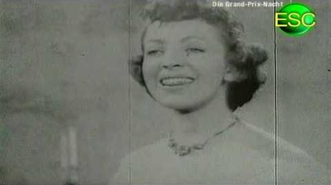 ESC 1957 03 - United Kingdom - Patricia Bredin - All