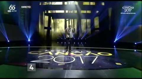 Eurovision Portugal 2017 - Amar Pelos Dois - Salvador Sobral