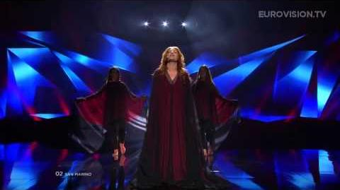 Valentina Monetta - Crisalide (Vola) (San Marino) - LIVE - 2013 Semi-Final (2)