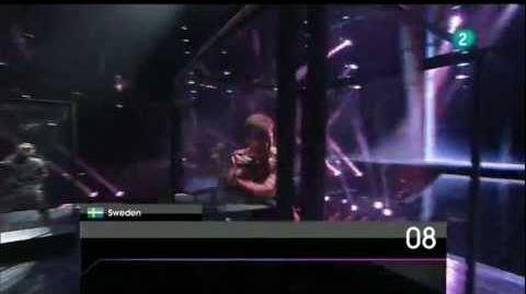 HQ Eurovision 2011 Sweden Eric Saade - Popular (Semi-final 2)