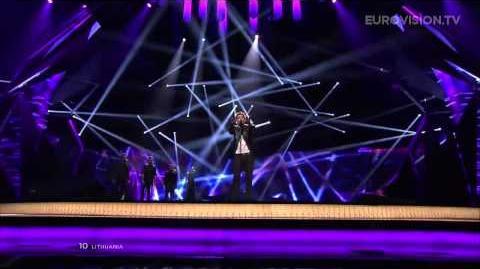 Andrius Pojavis - Something (Lithuania) - LIVE - 2013 Semi-Final (1)
