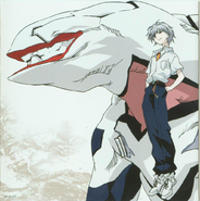 Kaworu & Mass Production Evangelion Artwork
