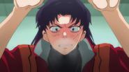Misato's jealousy (Rebuild)