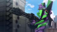 Eva-01 gatling gun