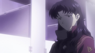 Misato after Shamshel battle
