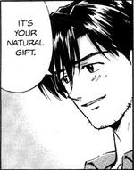 Kaji in manga