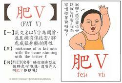 高登潮語學習字卡3肥V