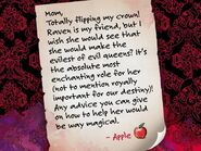 Facebook - letter to Snow White