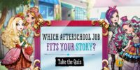 Which Afterschool Job Fits Your Story?