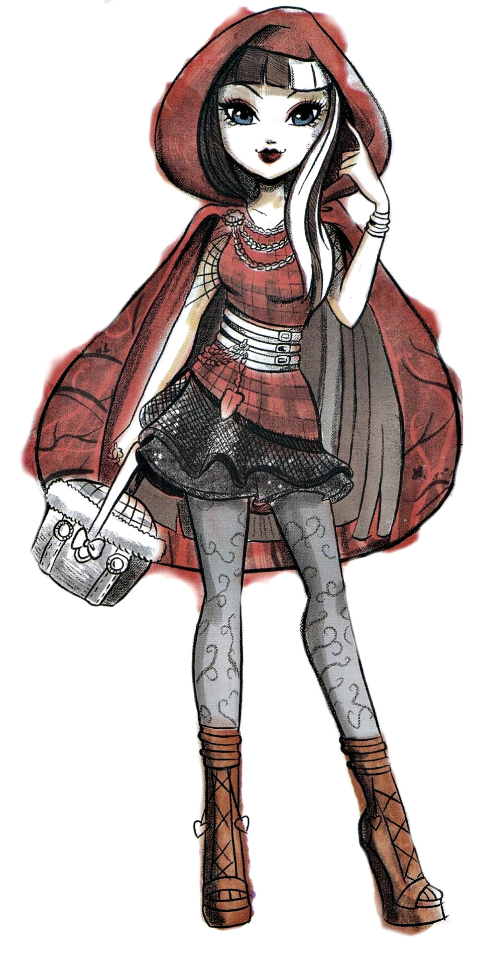 this is my Chocnut: Ever After High - Cerise Hood   Cerise Hood