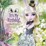 Facebook - happy birthday Bunny