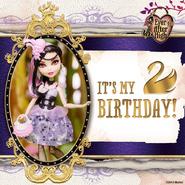Facebook - happy birthday Duchess