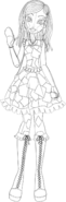 Angeline Patchwork Sketch S