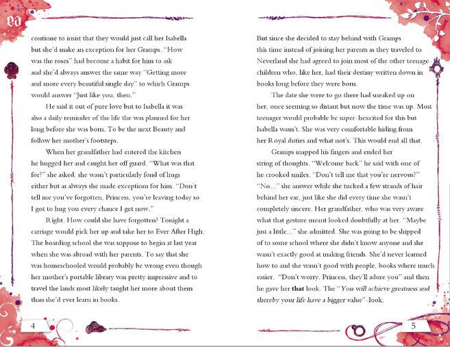Isabella Story 4-5