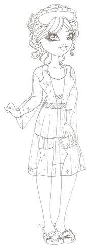 Merana Little Getting Fairest Sketch