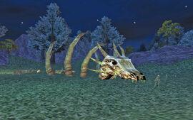 Steamfont Mountains - Dragon bones