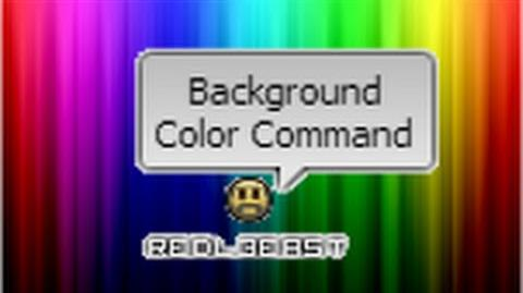Everybody Edits Background Color Command