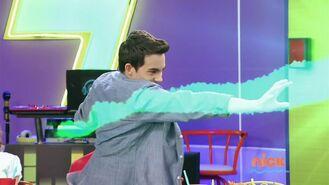 Diego throwing fireball