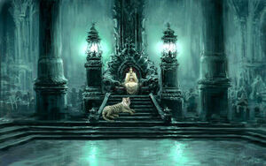The Ice Palace's Throne Room