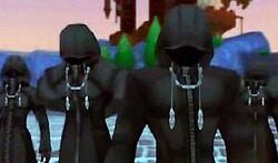 The Organizers' Black Coats
