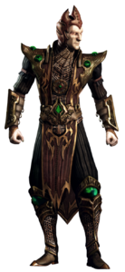 Wrathful Lord Shinnok