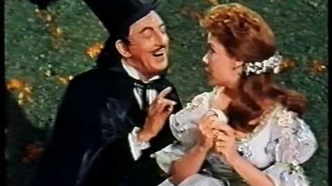 """Ray Bolger & Annette Funicello - """"Castle In Spain"""""""