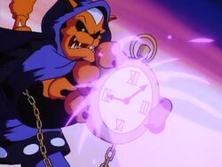 Pastmaster with his Watch