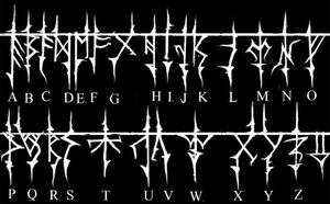 The Gozerian Alphabet