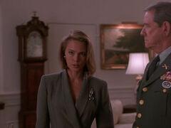 Michelle Rodham Huddleston (played by Brenda Bakke) Hot Shots 2 02