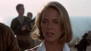 Michelle Rodham Huddleston (played by Brenda Bakke) Hot Shots 2 102