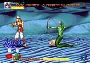 Snakewoman 1 Arabian Fight