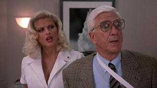Tanya Peters in Naked Gun 3 (played by Anna Nicole Smith) 56