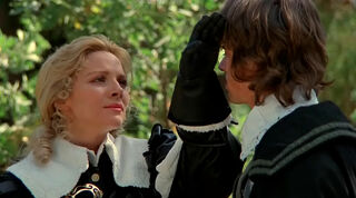 Justine de Winter (played by Kim Cattrall) The Return of the Musketeers 346