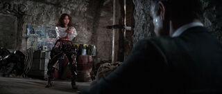 Fatima Blush (played by Barbara Carrera) Never Say Never Again 200-0