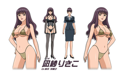 Risako Nagisa (voiced by Tara Platt) Aika R-16 Virgin Mission 00