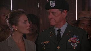 Michelle Rodham Huddleston (played by Brenda Bakke) Hot Shots 2 07